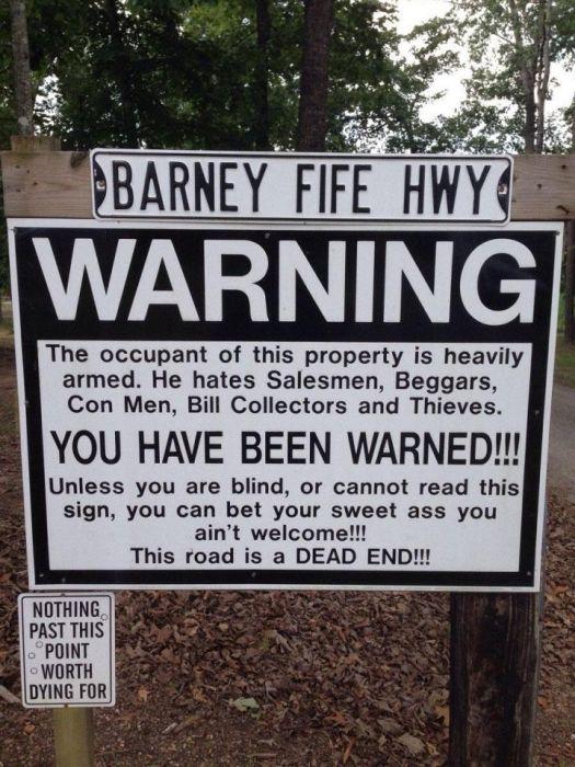 funny warning signs 18 pics