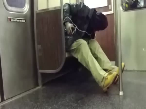Passengers Freak Out Over Rat on Subway