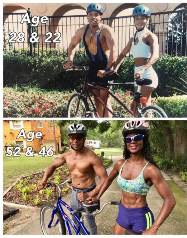 Fitness Mum Looks Great At 46 (3 pics)