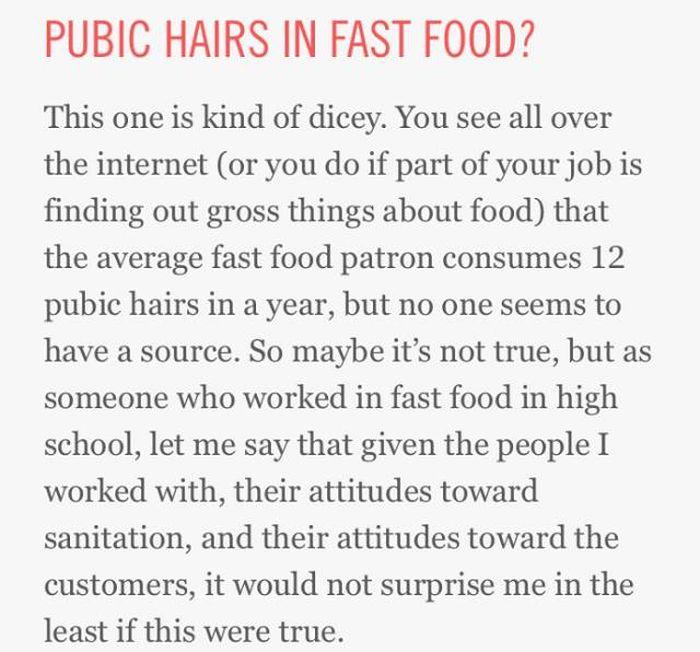 Restaurants Have Too Much Gross Stuff Inside (46 pics)