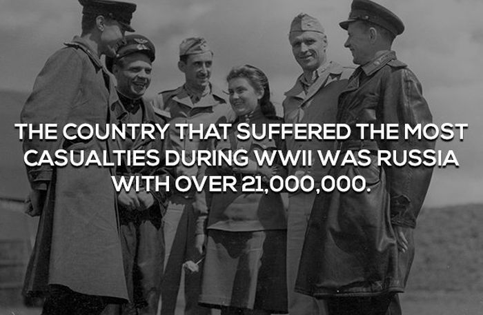 Interesting Facts About WWII (17 pics)