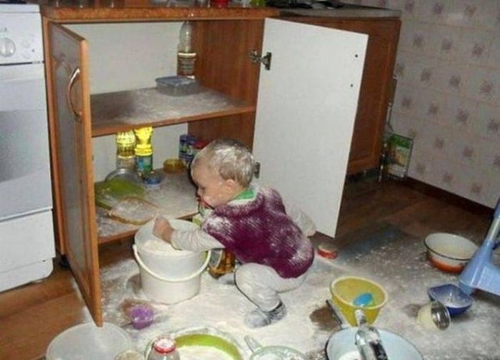 Kids Are Disaster (23 pics)
