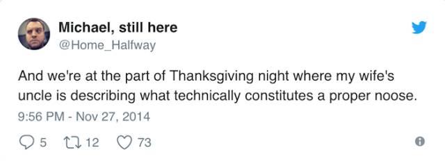 Funny Thanksgiving Tweets (50 pics)