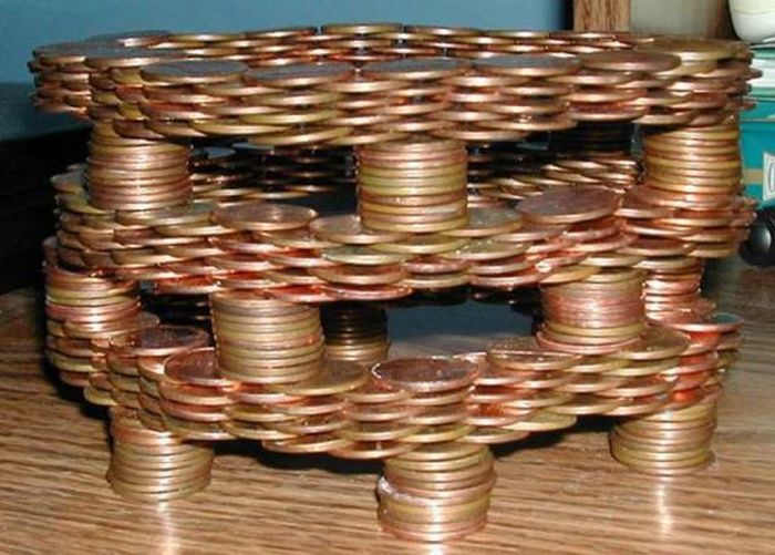 What To Do With A Lot Of Coins (22 pics)