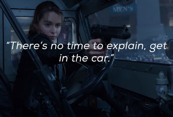 Common Movie Quotes That You'll Probably Never Utter In Real Life (23 pics)