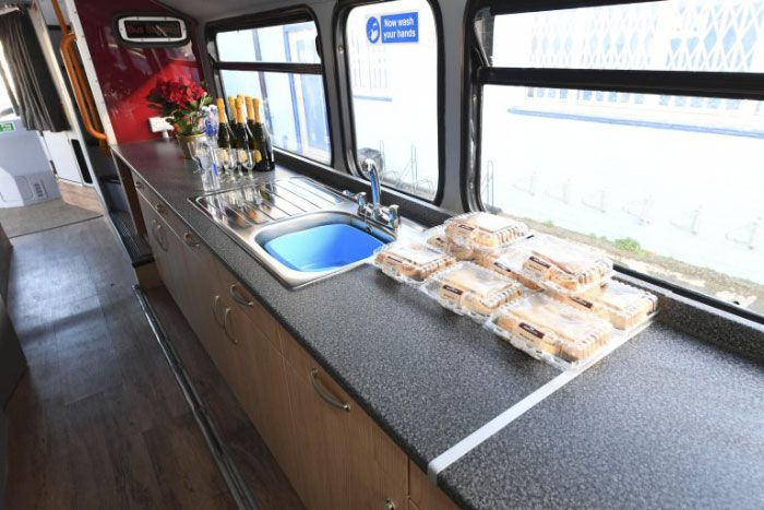 Double-Decker Bus Transformed Into Shelter For Homeless (13 pics)