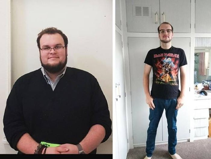 Fat People Before And After They Lost Weight (23 pics)