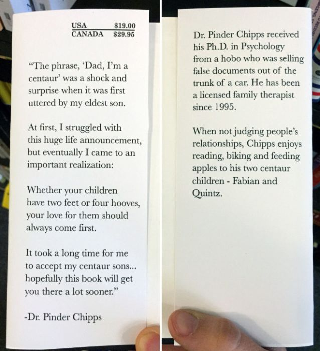 Guy Creates Fake Self-Help Books and Leaves Them at a Local Bookstore (12 pics)