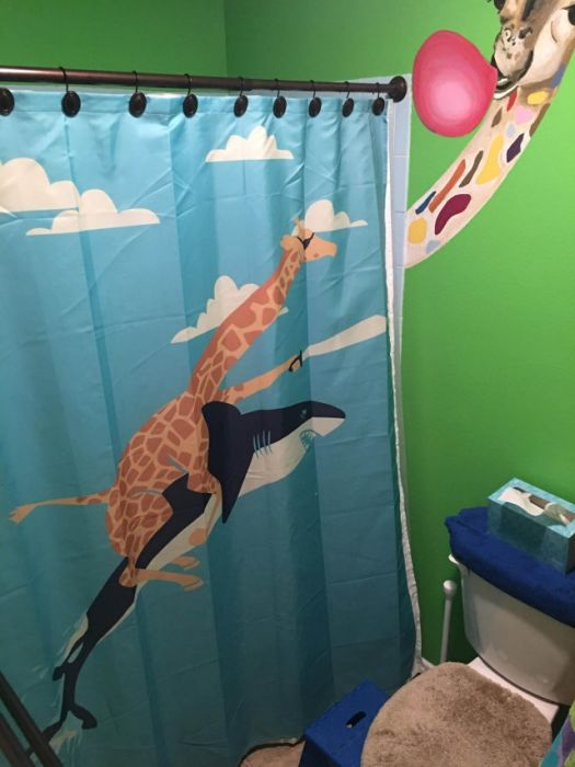 Creative Shower Curtains (31 pics)