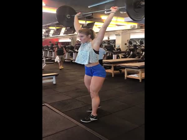 This Girl Will Make You Love Leg Day