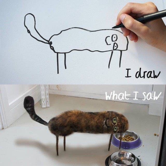 Kids' Drawings Brought To Life (39 pics)