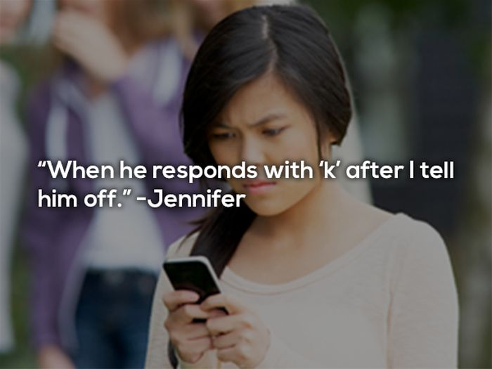 12 Women Admit Their Biggest Texting Pet Peeves (12 pics)