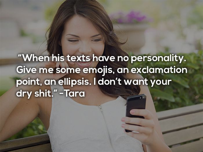12 Women Admit Their Biggest Texting Pet Peeves (12 pics)