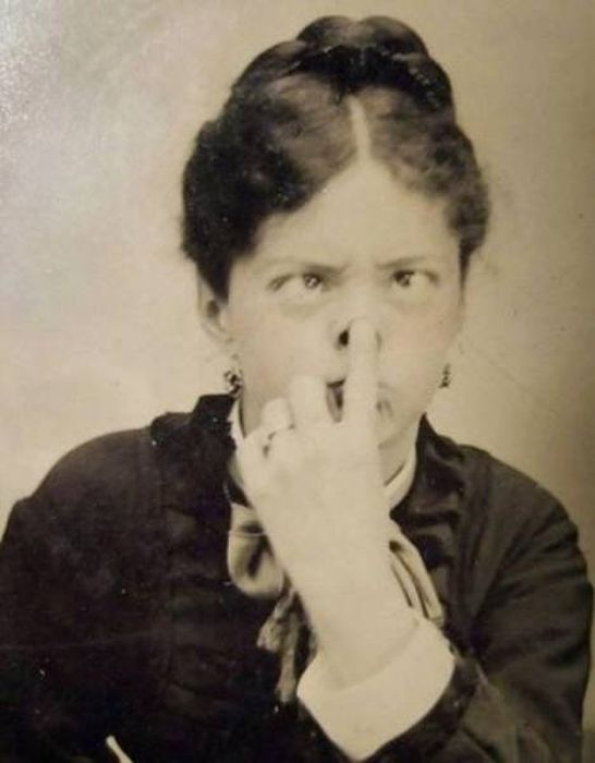 Strange Photos From The Past (27 pics)