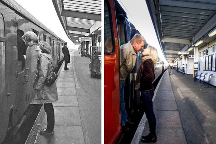 Photographer Recreates Photos He Took 40 Years Ago (10 pics)