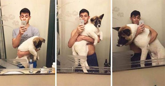 From Puppy To A Doggy (41 pics)