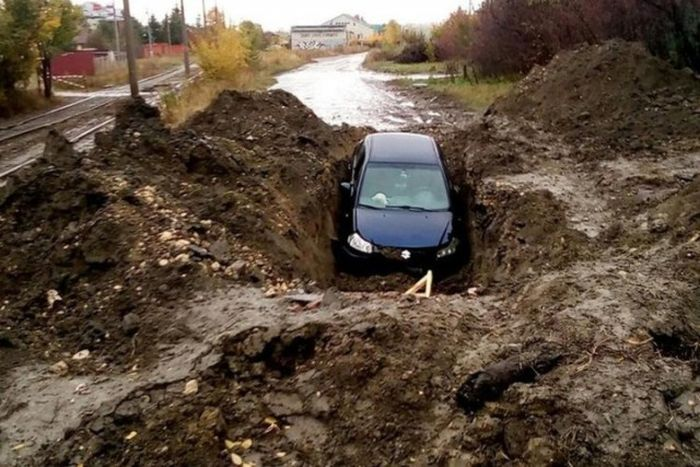Roads In The Cit Of Saratov, Russia (14 pics)