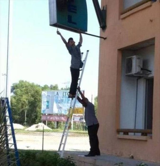 People Who Don't Care About Safety (46 pics)