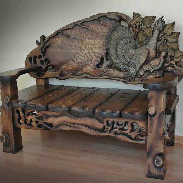 Awesome Woodworks (33 pics)