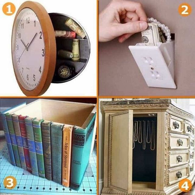 How To Hide Things At Home (17 pics)