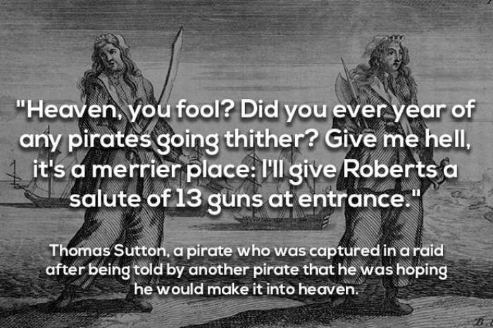 Quotes By Famous Pirates (10 pics)