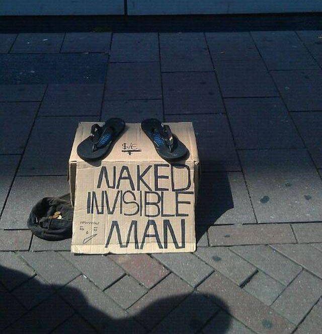 Homeless People Have Sense Of Humor (13 pics)