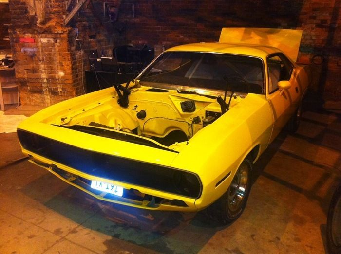 Plymouth Barracuda 1970 Before And After Photos (23 pics)