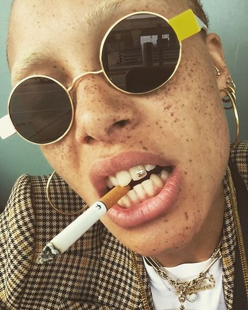Model Adwoa Aboah Is The British GQ's 'Woman of the Year' for 2017 (16 pics)