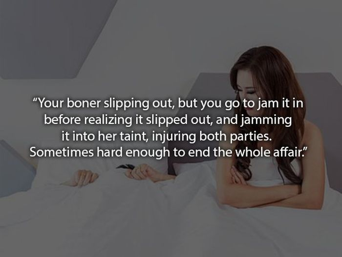 Real-life Sex Situations You Never See In Porn (18 pics)