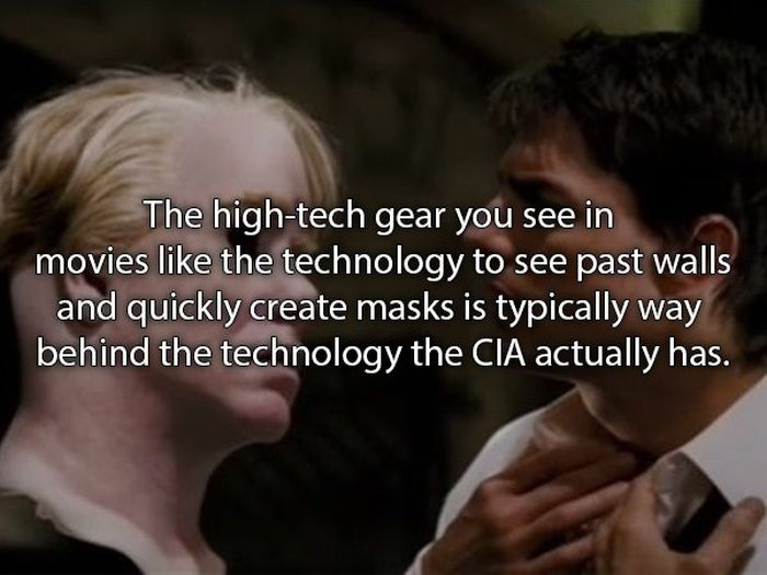 What's Fact And What's Fiction Inside The CIA (13 pics)