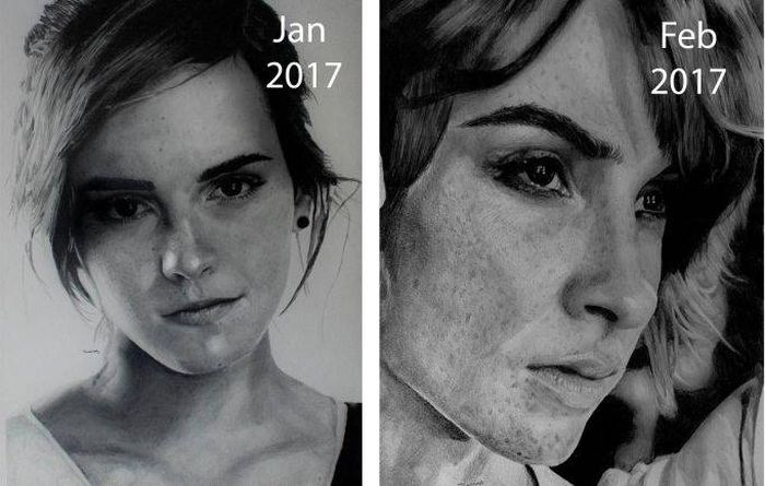 An Artist Shares His Incredible Progress (6 pics)