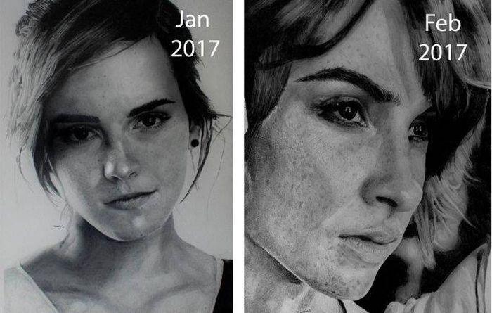 An Artist Shares His Incredible Progress (6 pics)
