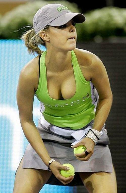 women tennis 07 - שחקניות טניס שנתפסו בעדשה בזמן משחק (19 תמונות)