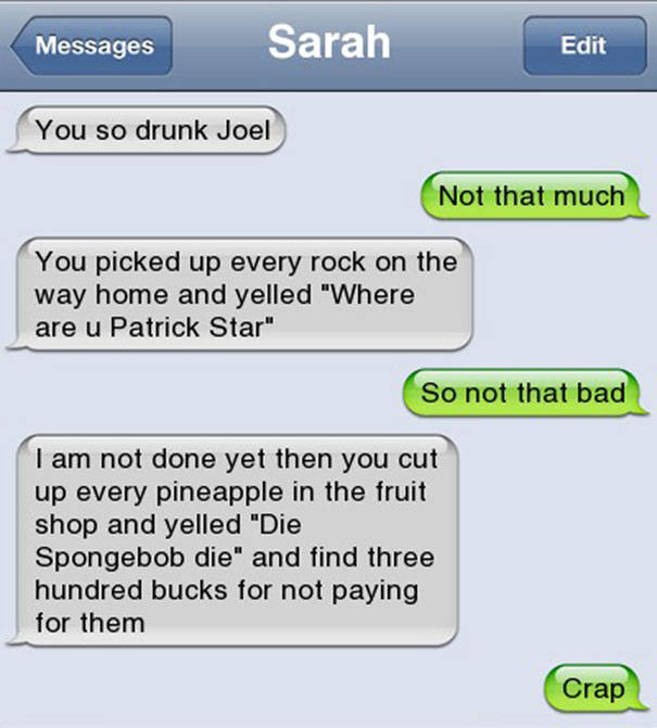 That's Why You Never Drink And Text (35 pics)