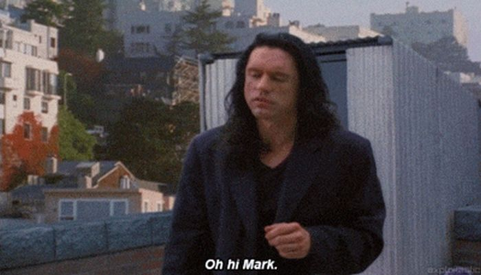 The Best Scenes From The Room (14 gifs)
