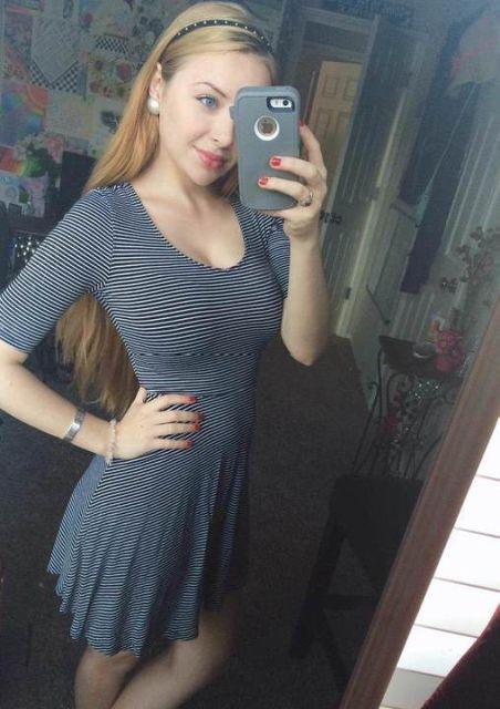 dresses 23 - בנות בשמלות צמודות (45 תמונות)