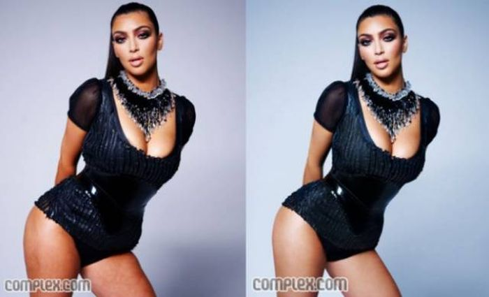 Unretouched And Retouched Celebrity Photos  (15 pics)
