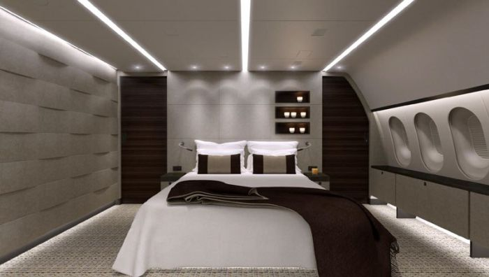 Inside the World's Only Private 787 Dreamliner (10 pics)