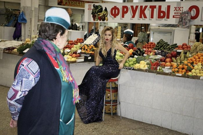 Photo Shooting Of A Russian Girl (14 pics)