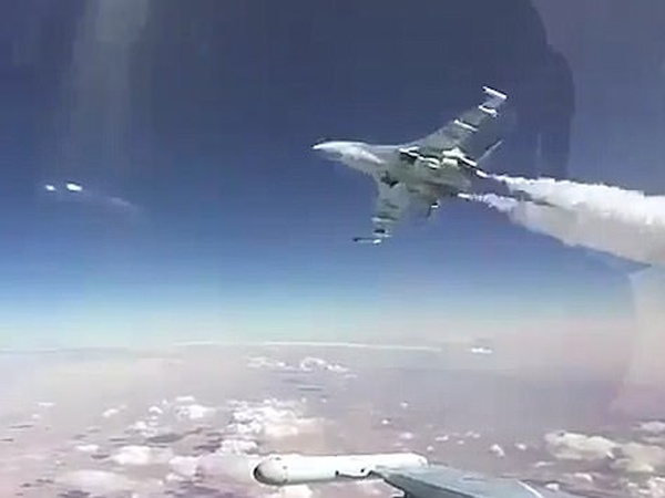 Russian Fighter Jet Almost Wipes Out Another Plane