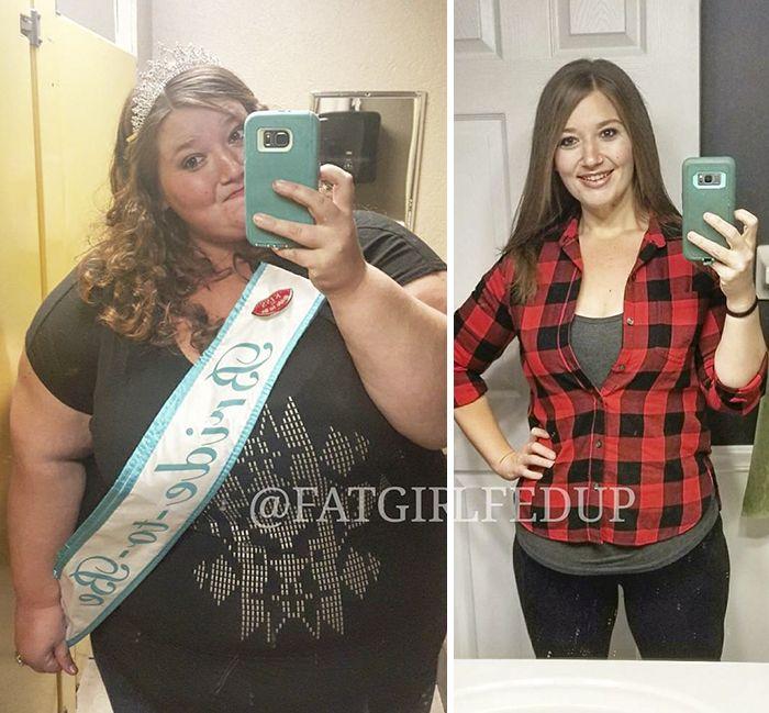 Muchacha pesaba 226kg y decidió cambiar
