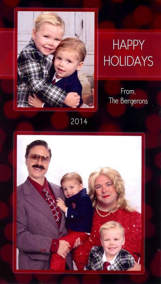 This Family Might Be Making The Best Christmas Cards (15 pics)