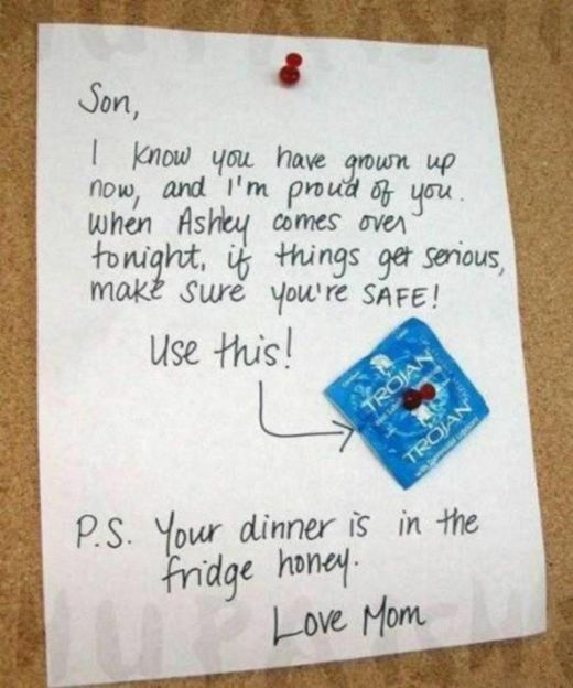 Notes From The Parents (11 pics)