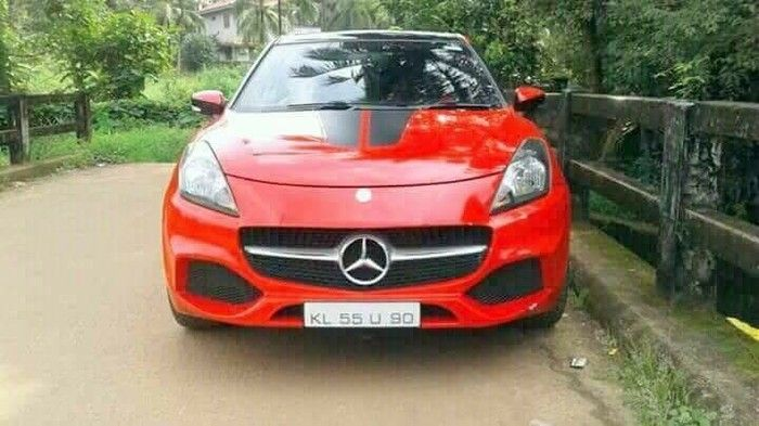 This Car Was Sold As Mercedes A Class But It's Not (4 pics)