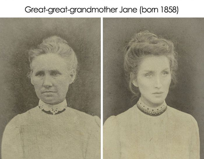 One Guy Has Recreated The Old Photos Of His Ancestors (4 pics)