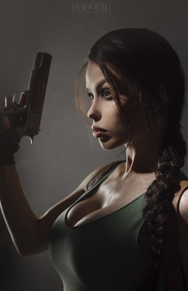 Freia Raven Cosplayer As Lara Croft (10 pics)