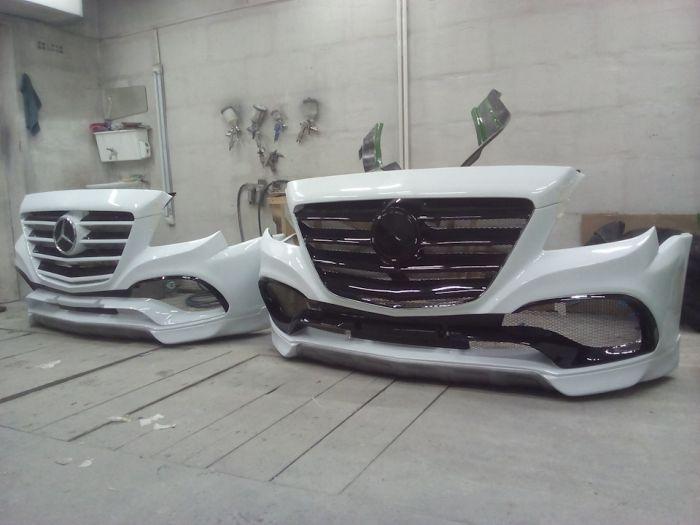 Mercedes-Benz Sprinter Tuning (18 pics)