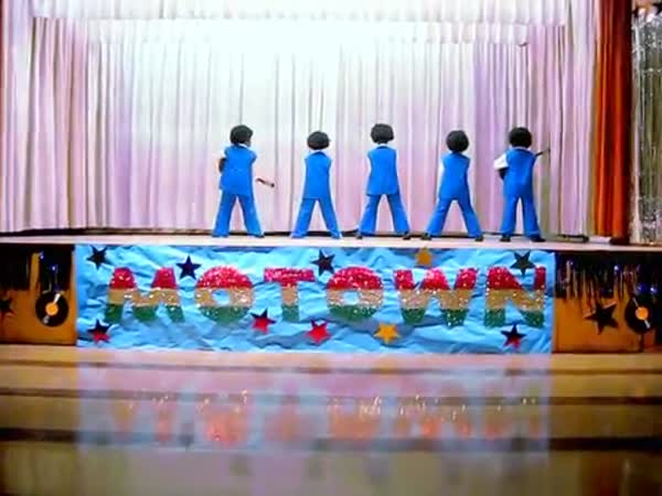 "Baldwin Hills Elementary Motown Revue ""I Want You Back"" Jackson 5"
