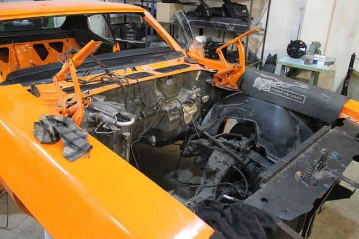Recovery of the Pontiac GTO 1970 The Judge (22 pics)
