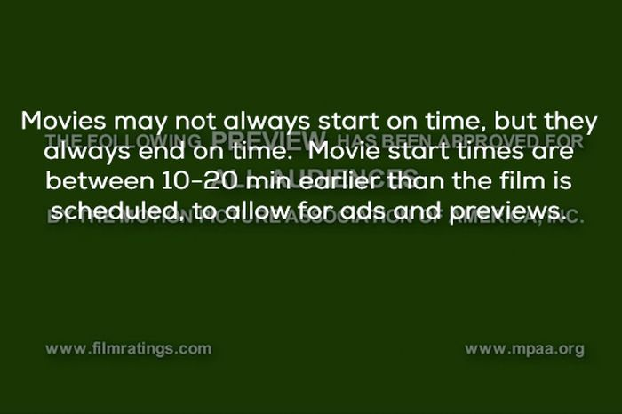 Facts About Movie Theatres (23 pics)